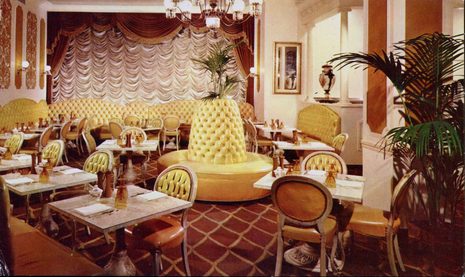Rooms: Eating Out: Mind-Blowing Mid-Century Restaurant Postcards