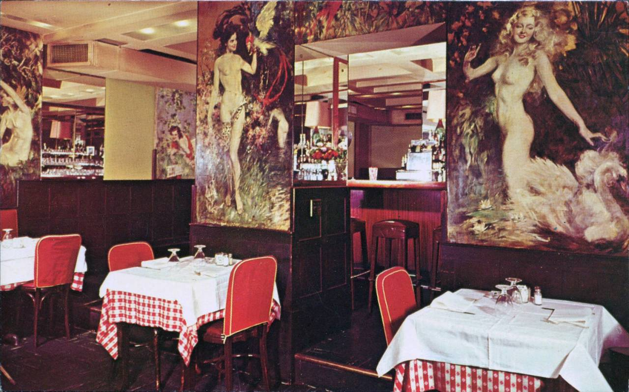 Cafe Des'Artistes, New York