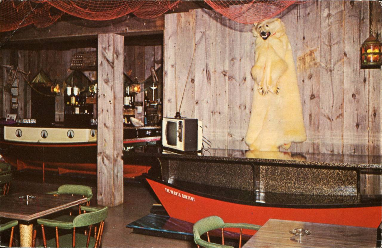 The Newfoundland Room, Swimwesto Hotel-Motel, Grand Falls, Newfoundland