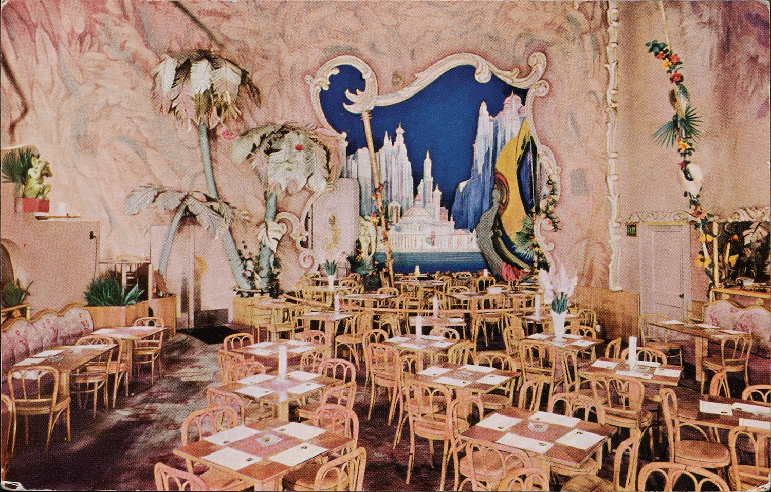 Eating Out Mind Blowing Mid Century Restaurant Postcards