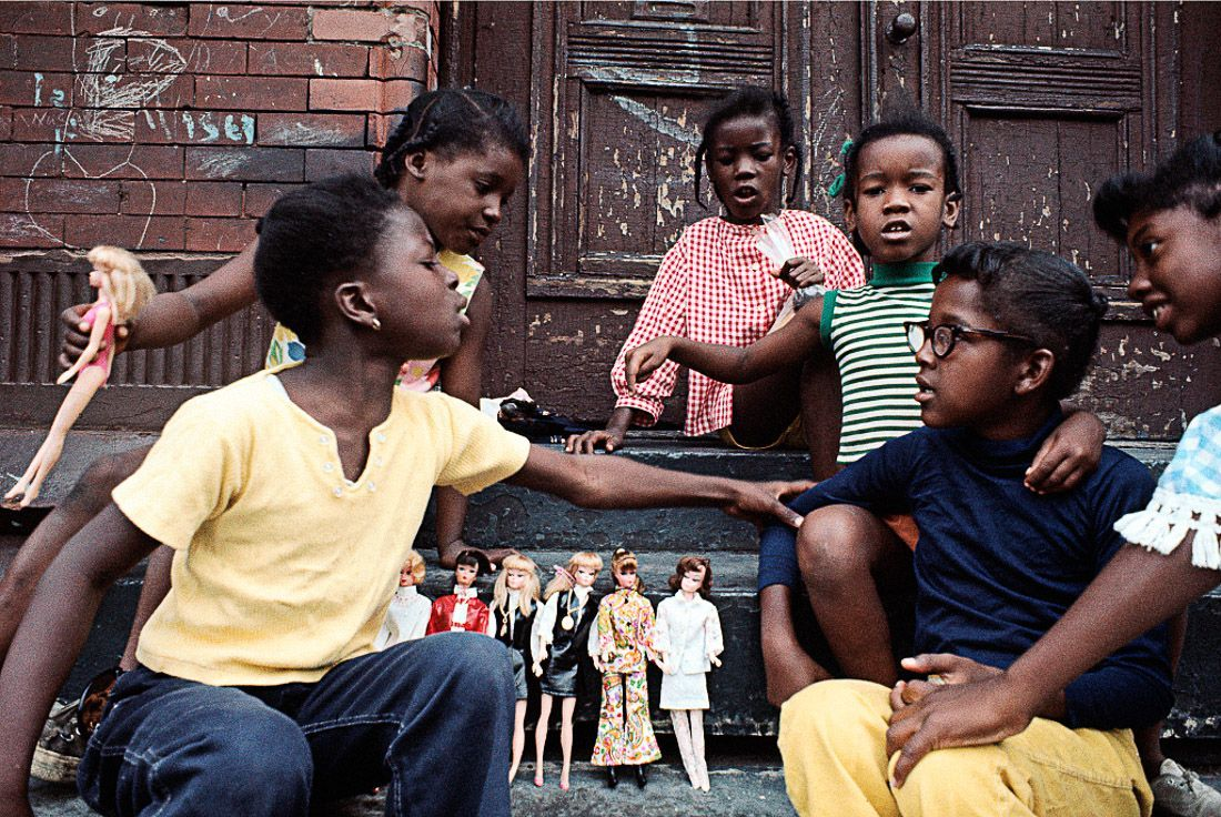 "1970 ""Girls with Barbies, East Harlem."" IMAGE: CAMILO JOSÉ VERGARA/LIBRARY OF CONGRESS"