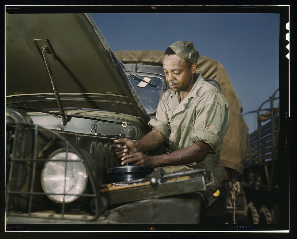 mechanic, motor maintenance section, Ft. Knox, Ky.