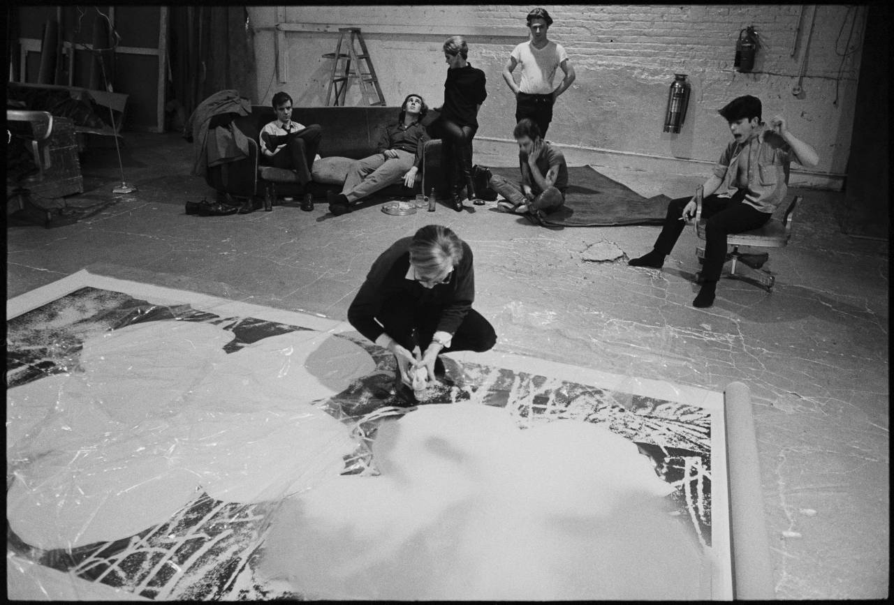 Andy Warhol The Factory New York