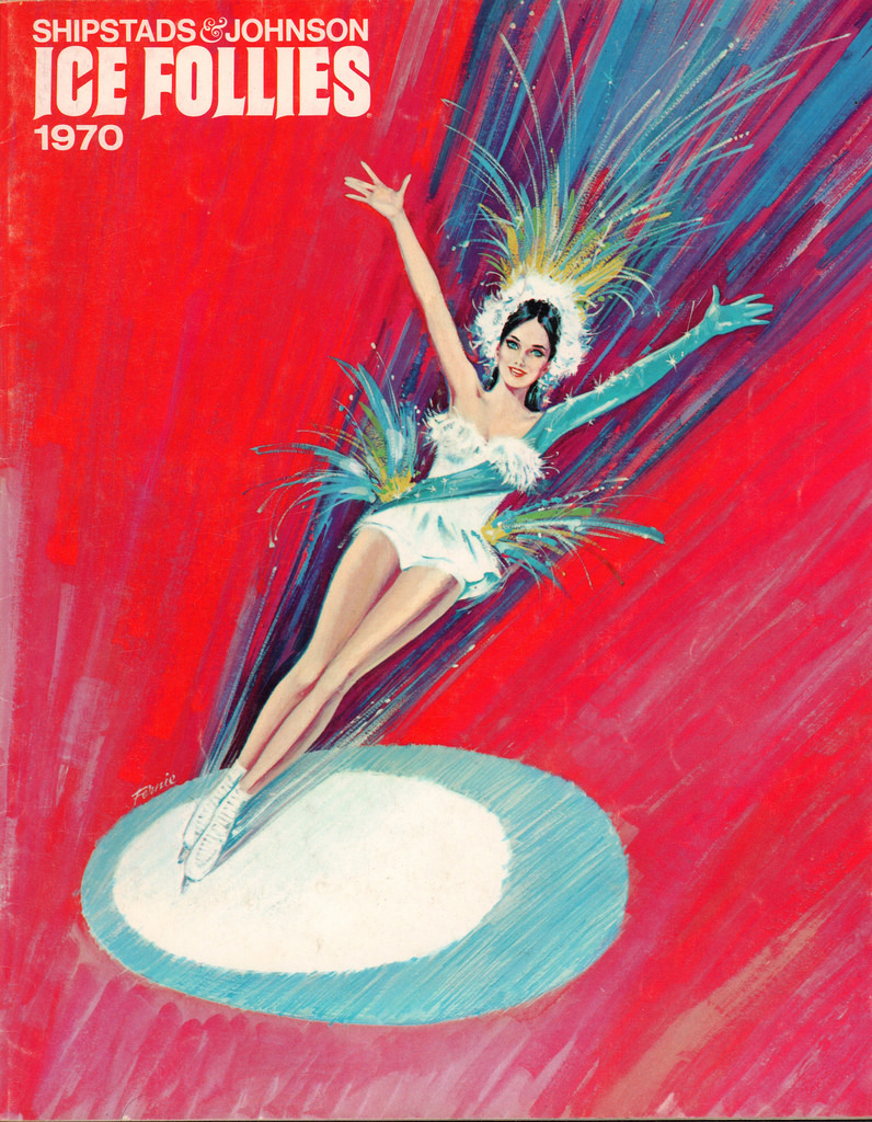 The Outstanding Ice Follies Programme 1970 - Flashbak