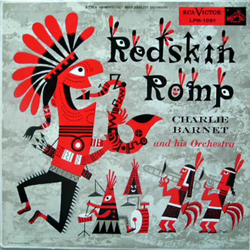 James Flora album cover Redskin Romp