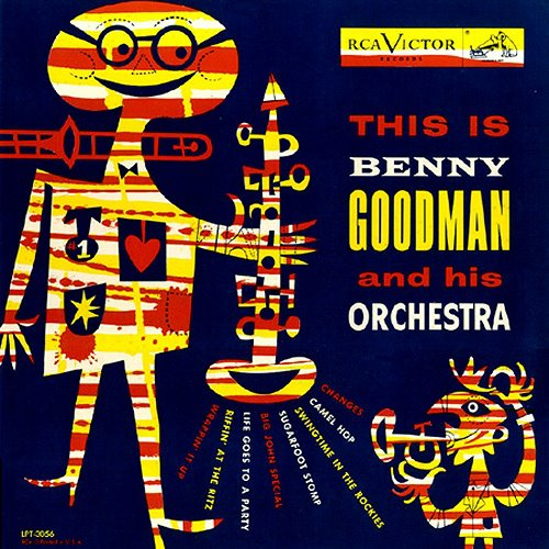 James Flora album cover Benny Goodman