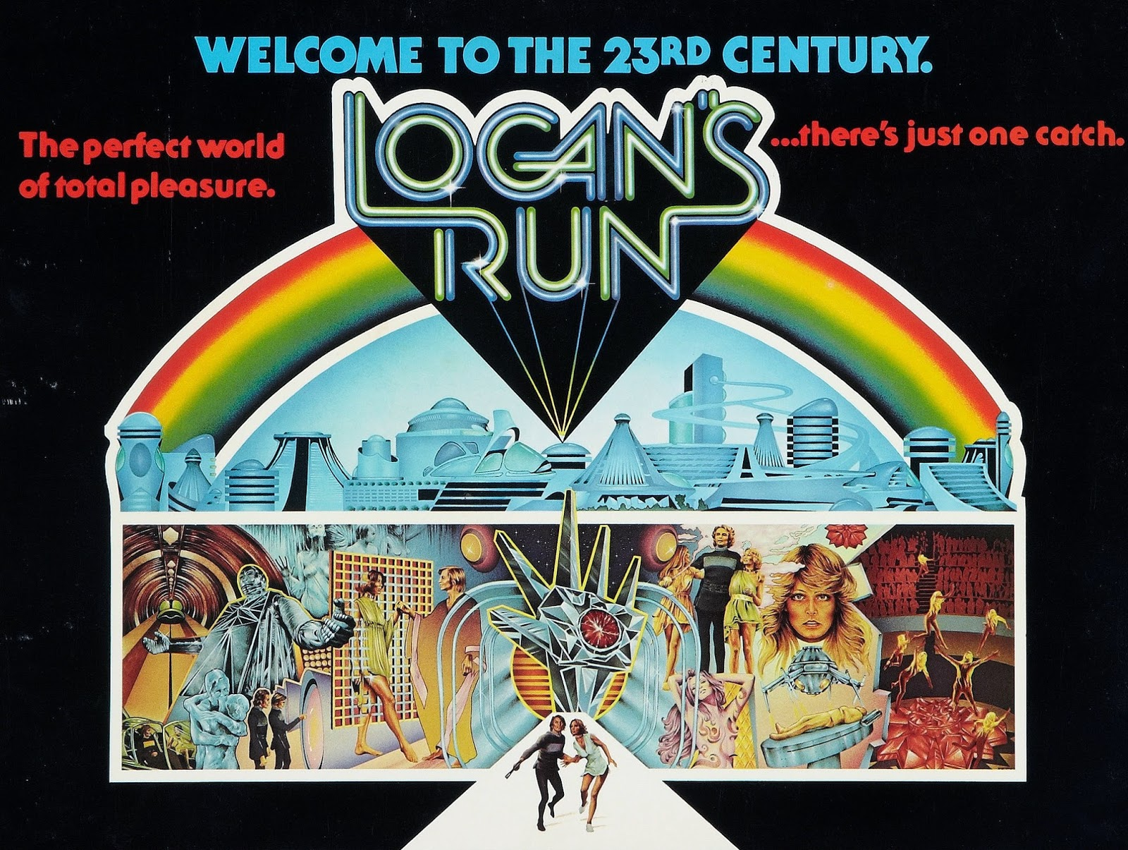 Logan S Run Poster Flashbak