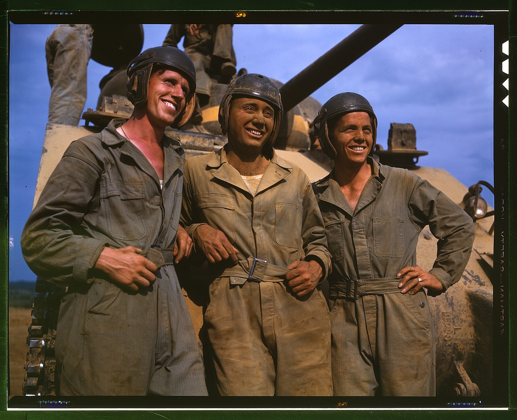 M-4 tank crews of the United States, Ft. Knox, Ky.