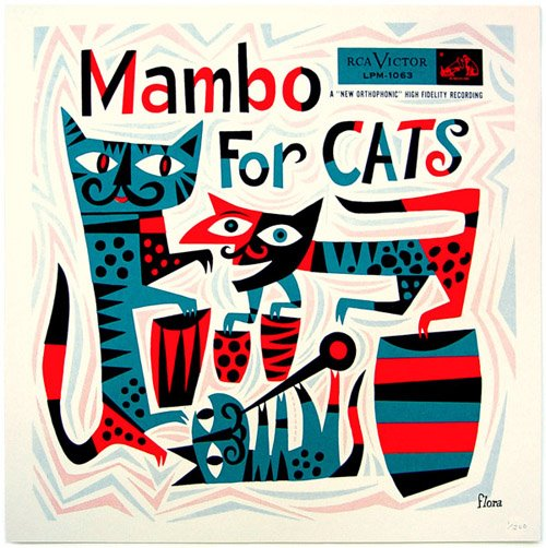 Mambo for cats James Flora album cover