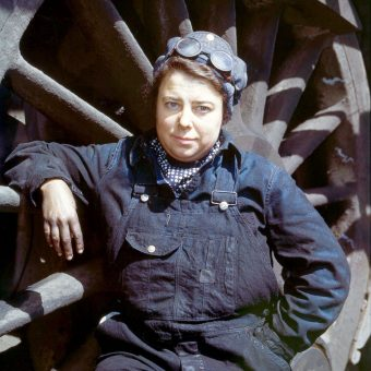 Women On The Homefront Railroad: Jack Delano's Epic 1943 Portraits
