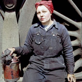 Women On The Homefront Railroad: Epic 1943 Portraits by Jack Delano