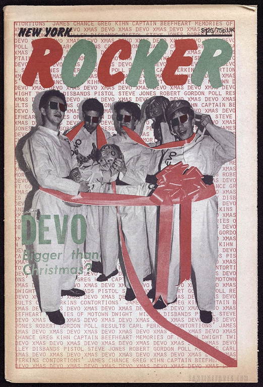 New York Rocker magazine covers Devo