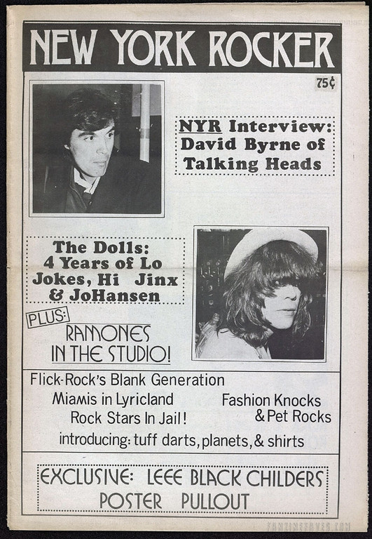 New York Rocker magazine Issue 1
