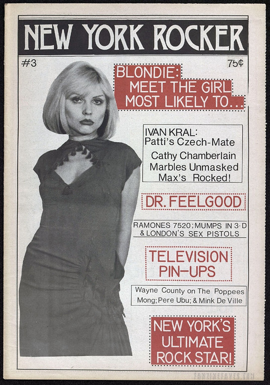 New York Rocker magazine Blondie
