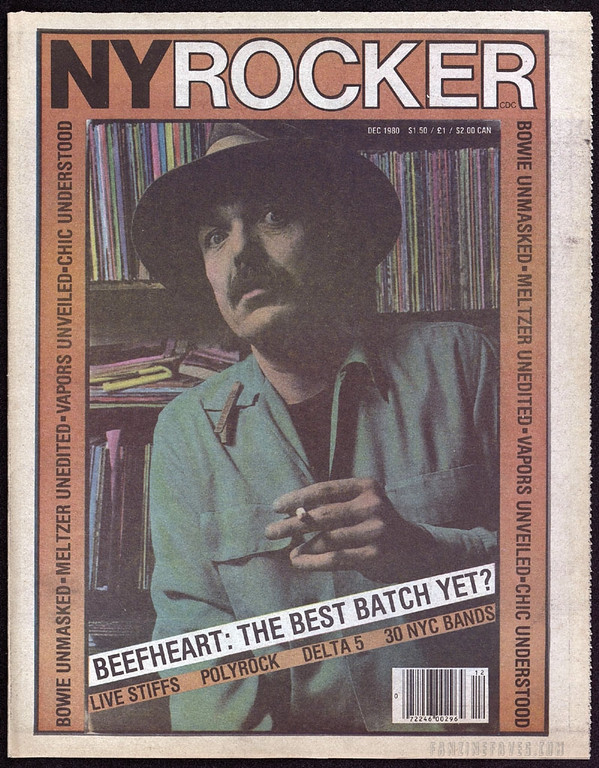 New York Rocker magazine covers