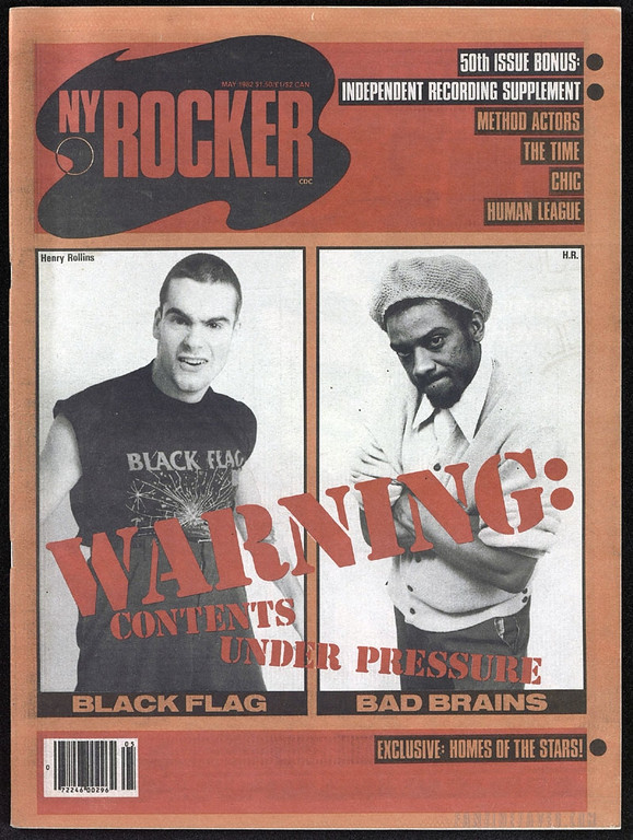 New York Rocker Black Flag