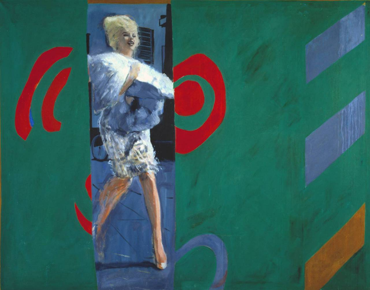 The Only Blonde in the World 1963 Pauline Boty