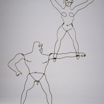 Alexander Calder Performs His Circus Calder And Other Mobile Marvels