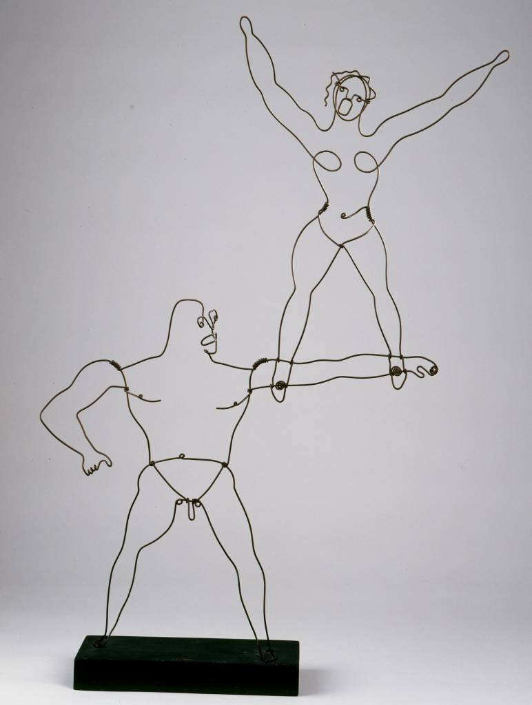 Two Acrobats, 1929. Sandy Calder mobiles
