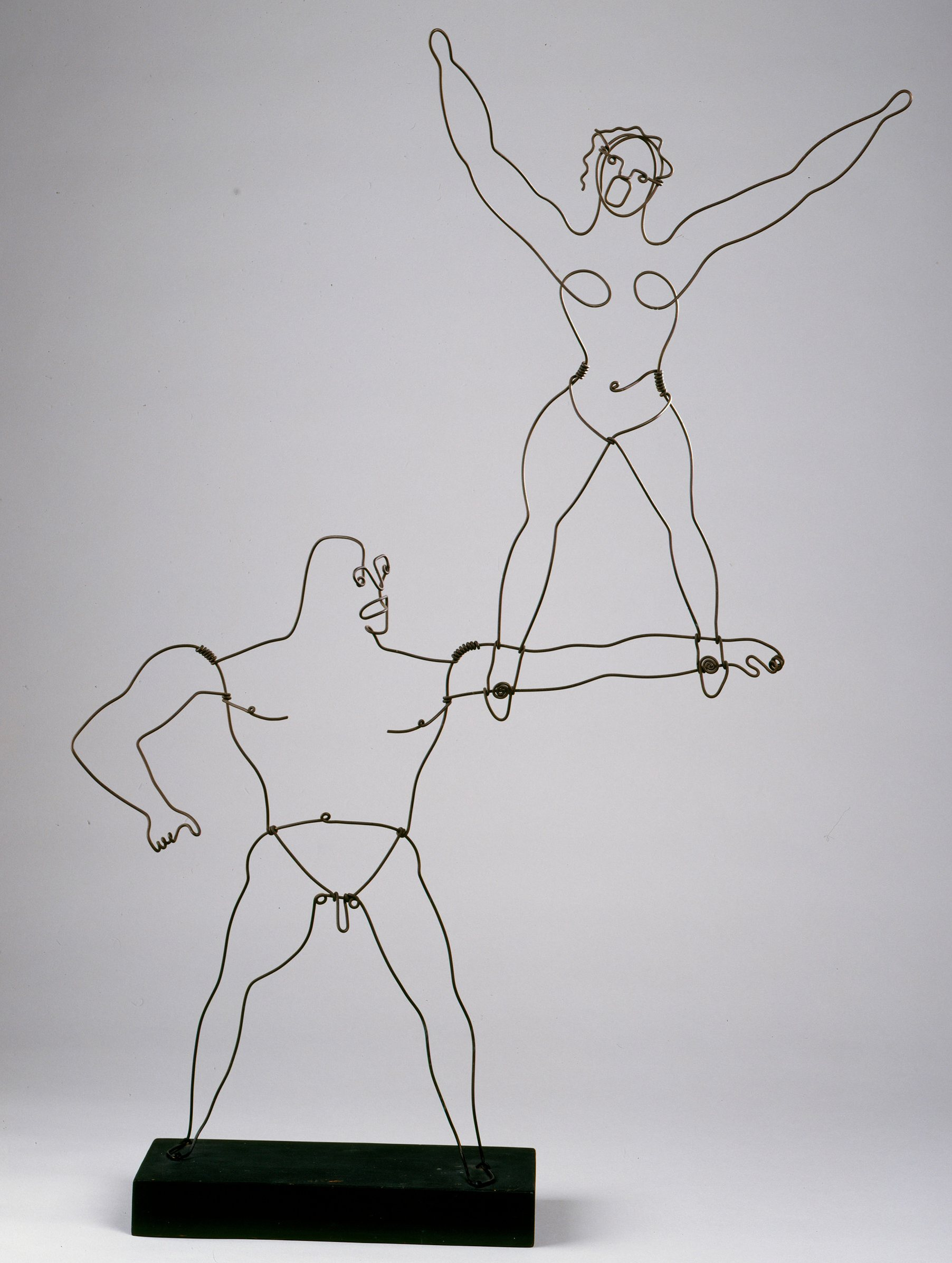 Alexander Calder Performs His Circus Calder And Other Mobile Marvels ...