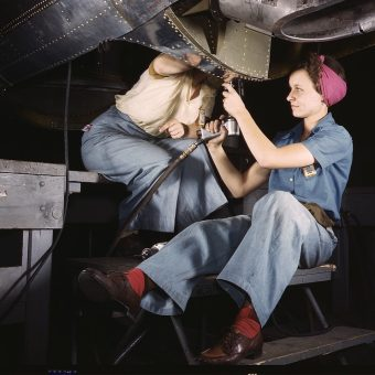 Building the 'Arsenal of Democracy': Alfred T. Palmer's Extraordinary Wartime Color Portraits