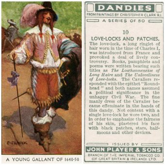 Historical Dandies: British Cigarette Cards (1932)