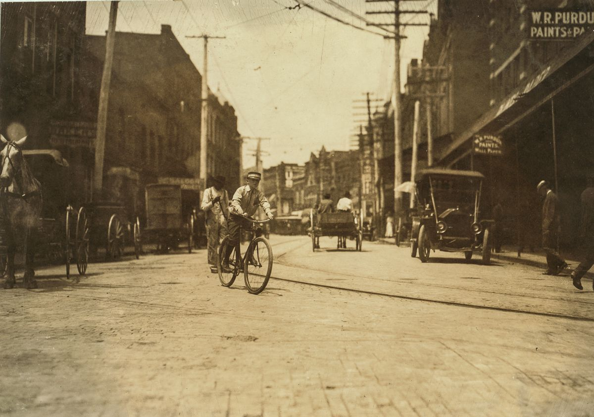 "June 1911 ""Postal Telegraph boy, Danville, Va. That night he refused to show me through the Red Light District, said the manager did not permit them to go on such errands."""