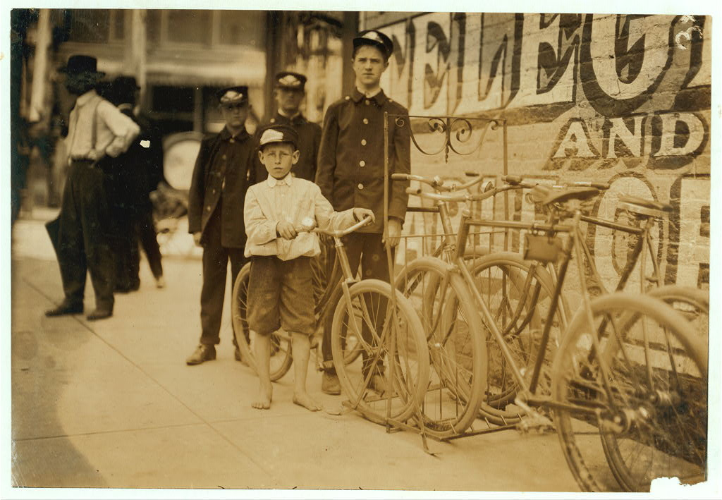 messenger boy 1911
