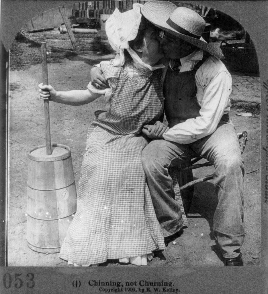 courtship stereo card 1906 sex