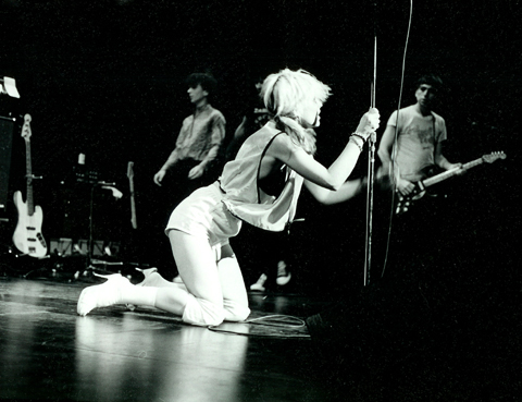 debbie harry stage
