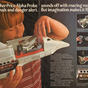 Imagination Makes It Fly: Fisher Price's Alpha Probe (1980)