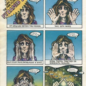 In Full: Pink Floyd's Dark Side Of The Moon Comic Book Programme (1975)