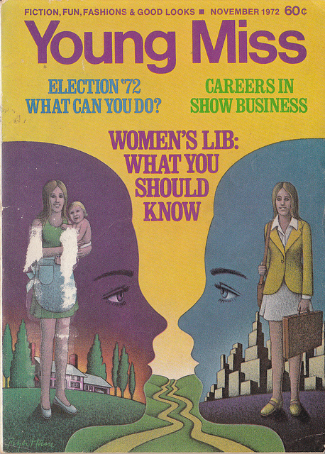 A 1972 Quiz on Women's Lib Little Miss magazine