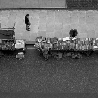 Bookstalls On Farringdon Road 1966