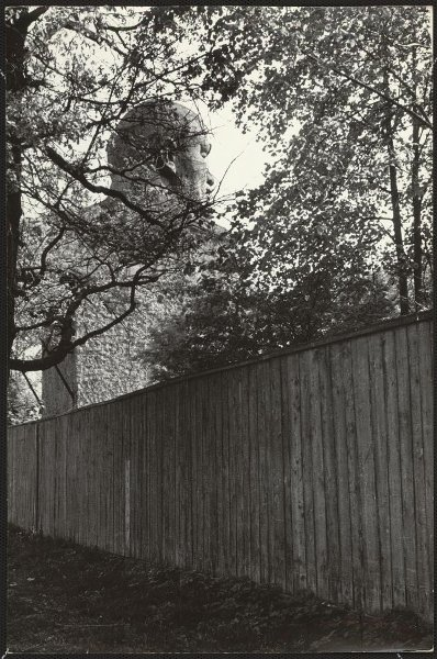 1981 - Behind the fence