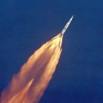 The Apollo 11 Launch in Super Slow Motion, July 16, 1969
