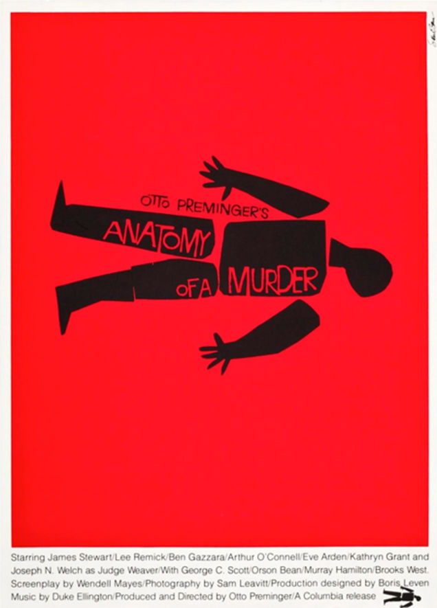 The Saul Bass Movie Poster Archive