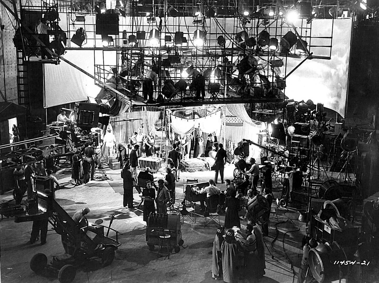 behind the scenes BTS classic movies
