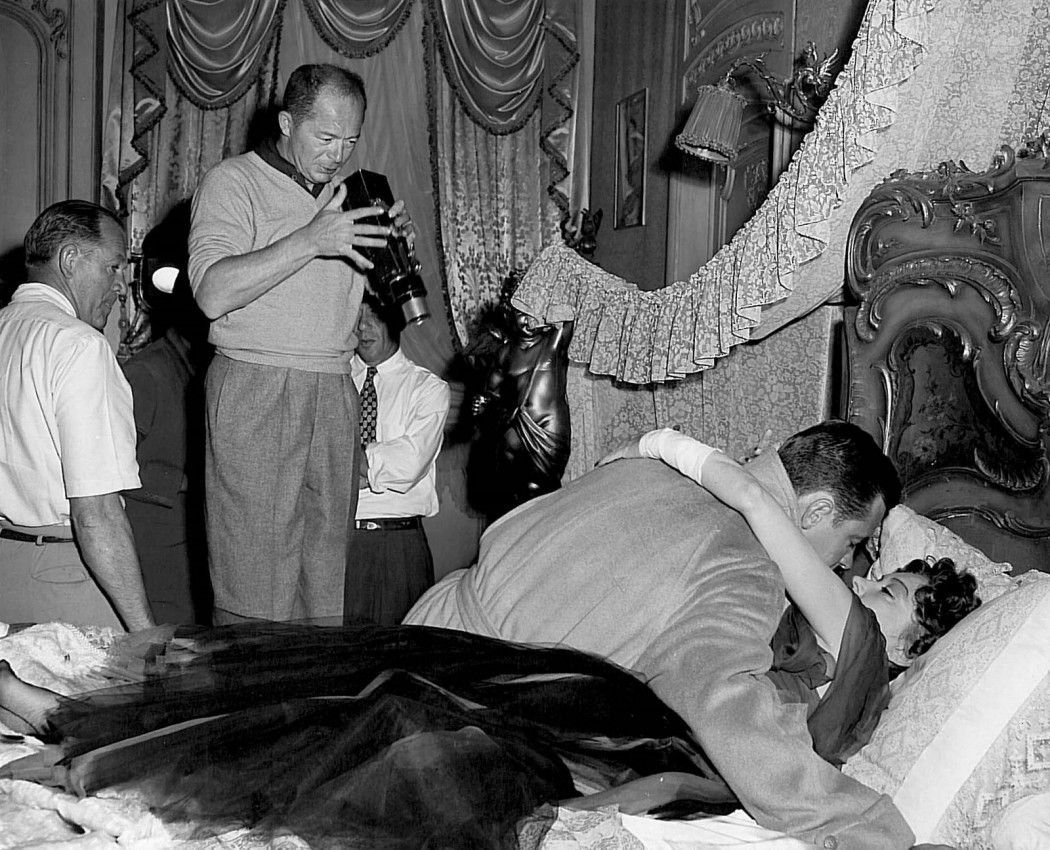 Billy Wilder directing Sunset Boulevard