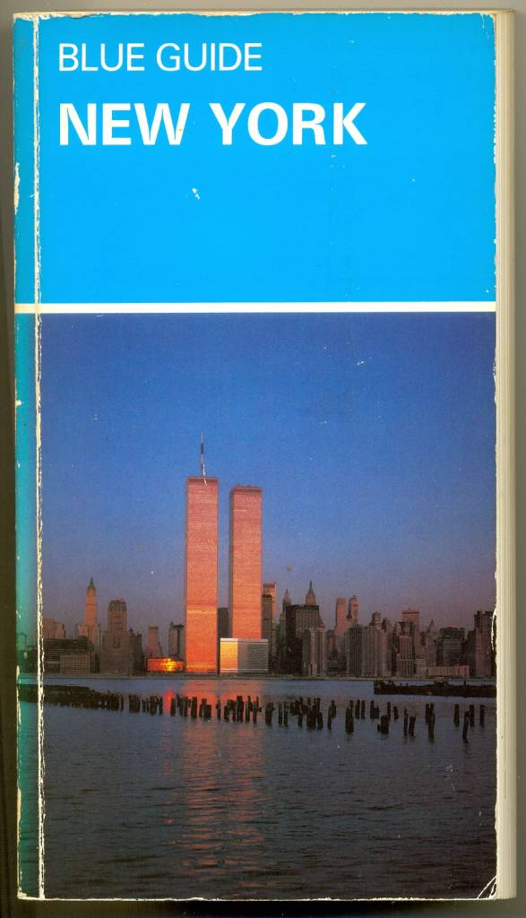 """Blue Guide to New York"" book, published in 1983. New York was a different place in the late 1970s and early 1980s to how it is now. It was an edgy and sometimes dangerous place to be. When I first visited New York City in 1982 I only used the Subway once. When I returned the following year I used buses to get around the city, because I wasn't comfortable using the Subway.   There is some advice on travelling by subway in this 1983 Blue Guide:   ""SUBWAY SAFETY: The New York subway system has a reputation for crime and filth which is not undeserved. Stations have been vandalised, cars sprayed with graffiti, platforms are smelly and filthy in many stations. In 1981 there were 15,812 felonies in the transit system including 13 murders, but it is also true that more than three million travellers ride the system daily and survive. Use common sense; be alert to your surroundings; stay with other people; don't go down empty stairwells or ride in empty cars; don't lean over the edge of the platform; if in doubt stay near the conductor who has a telephone, as does the attendant at the toll booth."""