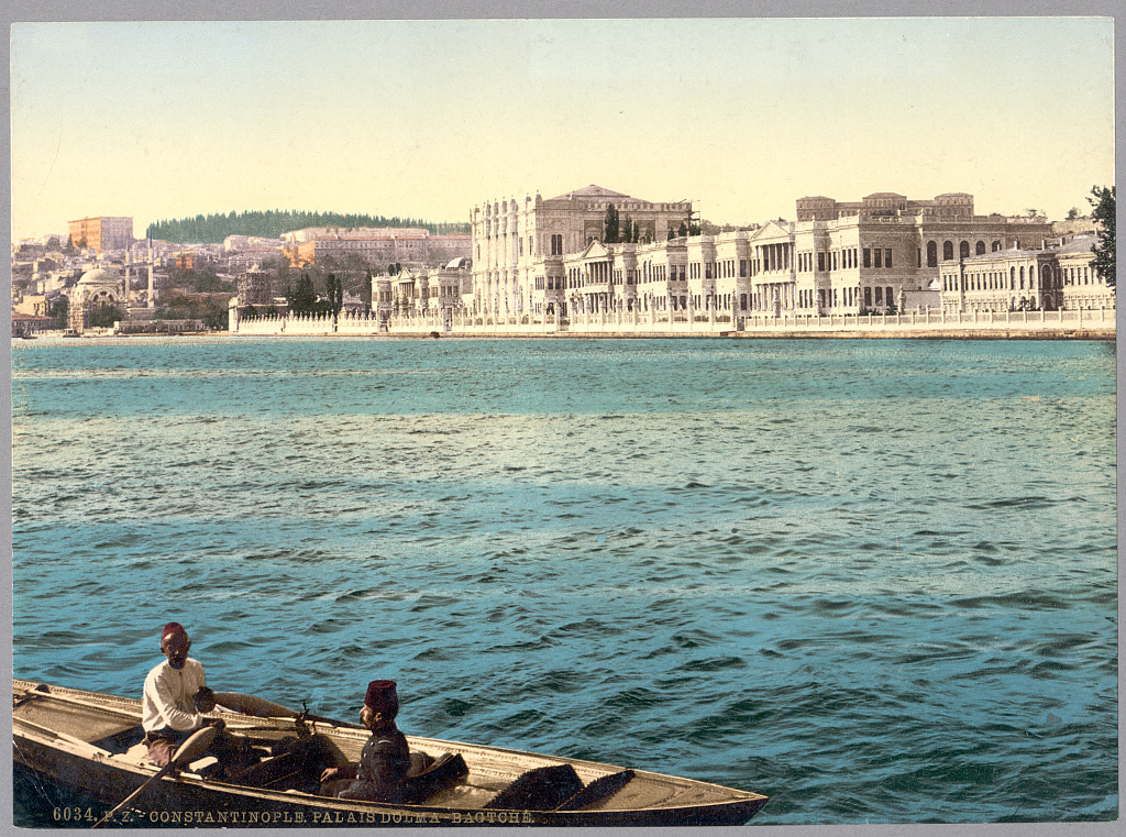 Istanbul Constantinople 1890 Photochrom