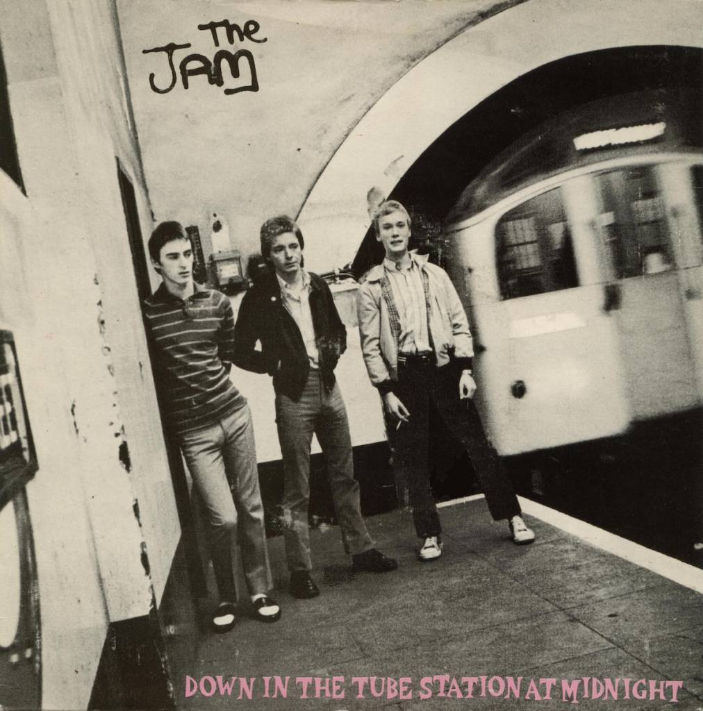 Down in the Tube Station at Midnight The Jam cover