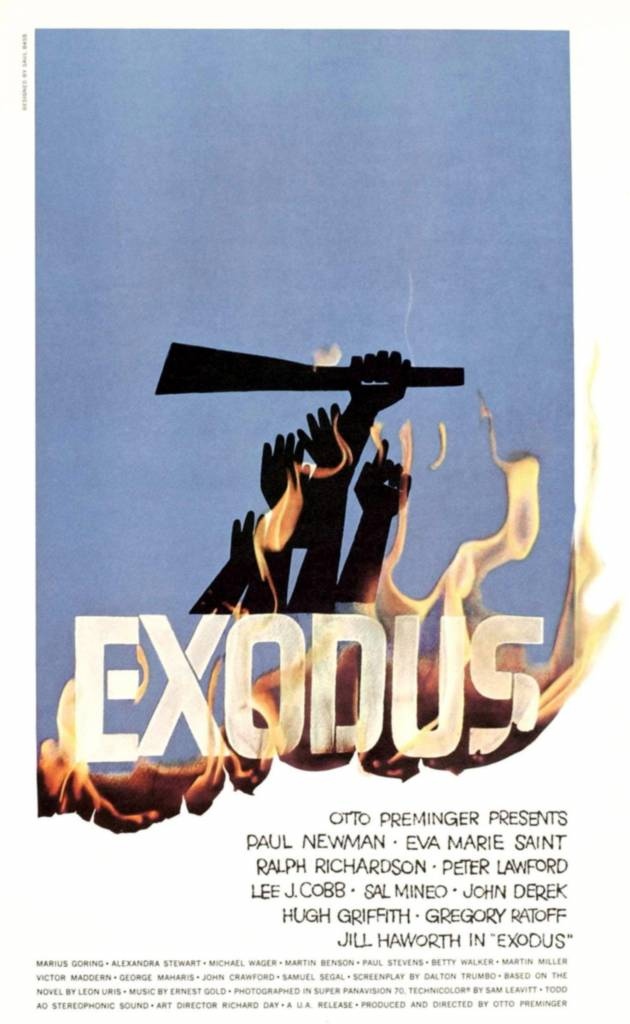 Exodus, 1960 Saul Bass posters