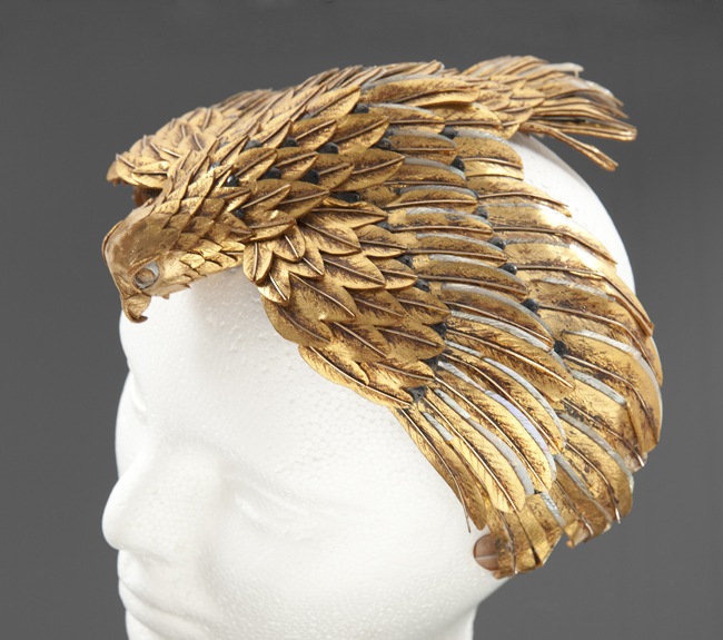 Falcon headdress