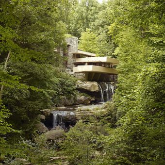 Frank Lloyd Wright's Fallingwater Gets Animated