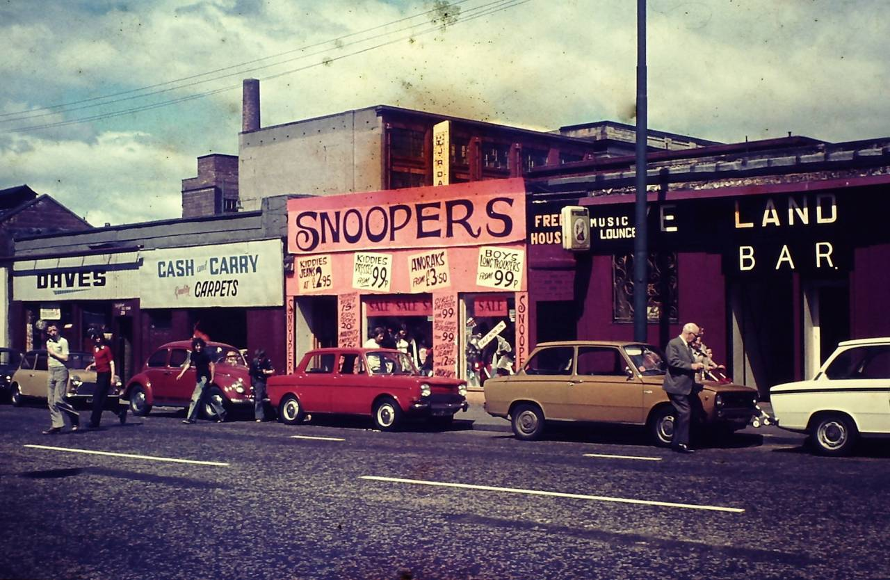 Gallowgate Glasgow July 1976
