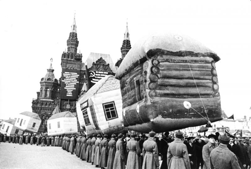 Holiday show on Red Square, Moscow Date: 1931