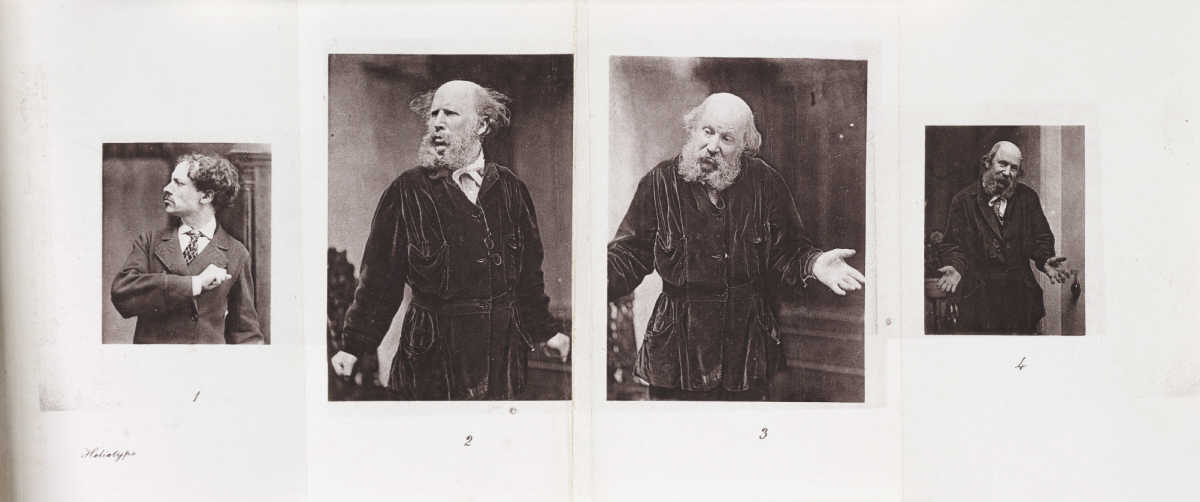 'Helplessness' from 'The Expression of Emotions in Man and Animals' London 1872. Charles Darwin (1809-1882)