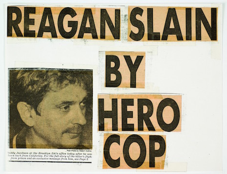 Keith Haring Reagan NY Post covers