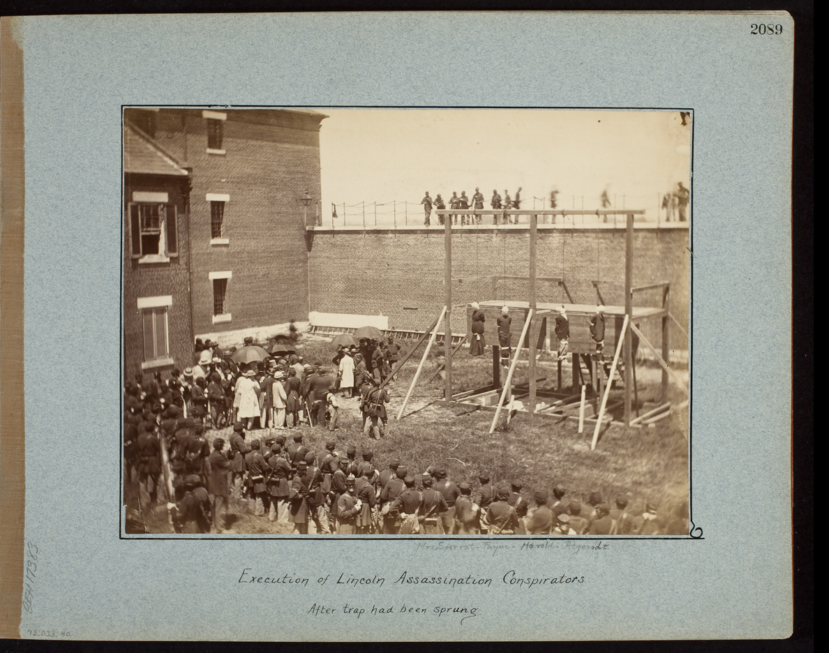 Execution of the Lincoln Conspirators